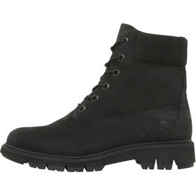 "Timberland Lucia Way WP Boots Women 6"" Black Nubuck"
